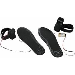 Infactory Paar beheizte Schuhsohlen Schuh Einlagen Gr. 38-46 Schuheinlagen warme Füße
