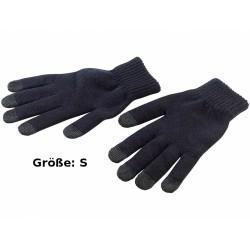 Pearl Touchscreen Handschuhe schwarz Gr. S kapazitiv Winter warme Finger Smartphone