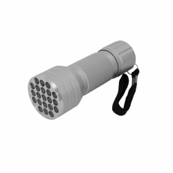 Eaxus Mini Taschenlampe mit 21 LEDs mit Aluminiumgehäuse LED Lampe Leuchte