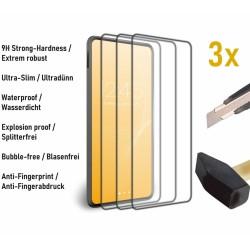 3 x 9H Panzerglas für iPhone 8/7/6/6s Displayschutzfolie Schutzglas Glasfolie Verbundglas