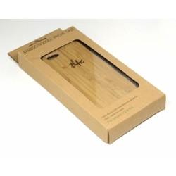 t4c Echtholz Bambus Cover für iPhone 5 / 5s - Holz Hülle Case Hardcase Handy Schale