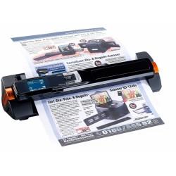 Somikon 2in1-Handscanner mobiler Scanner mit Dockingstation Papier Dokumentenscanner 900 dpi