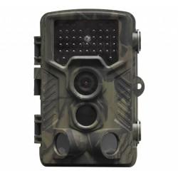 Denver WCT-8010 Full-HD Wildkamera mit Bewegungssensor Display 12MP Tier Wild Überwachungskamera Futterkamera