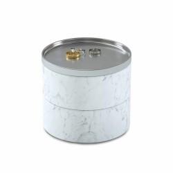 Umbra Tesora Schmuckbox 299470-491 weiß Kosmetikorganizer Ringetui Kettenetui