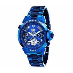 Zeitlos ZL-EBE-10 SB Automatik Herrenuhr Armbanduhr Exzellent Beast Farbe Special Blue