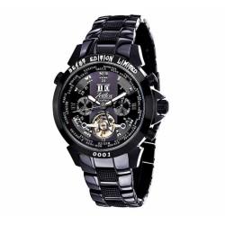 Zeitlos ZL-EBE-10 BG Automatik Herrenuhr Armbanduhr Exzellent Beast Farbe Schwarz Grau
