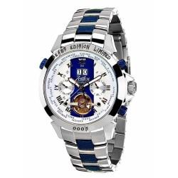 Zeitlos ZL-EBE-10 RB Automatik Herrenuhr Armbanduhr Exzellent Beast Farbe Silber Blau