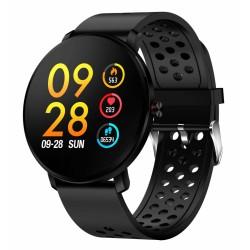 Denver Smartwatch SW-171Black Bluetooth Blutdruckmesser Touchscreen IP67