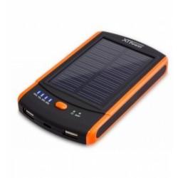 Solar Powerbank - USB Ladegerät mit 6000 mAh LiPo und Solarpanel